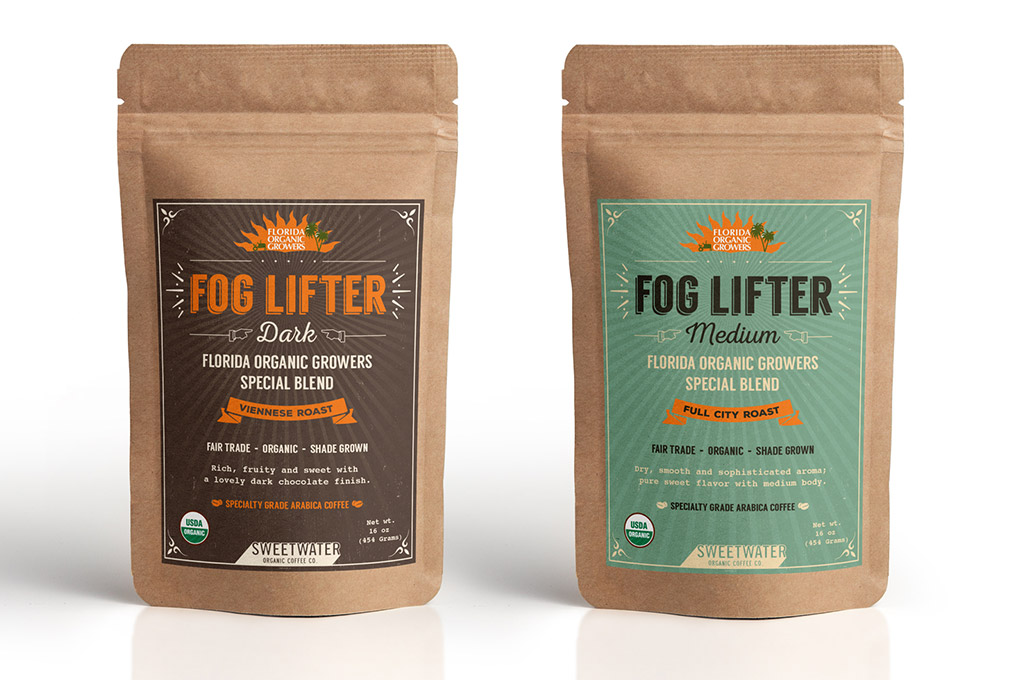 Fog Coffee Label Design