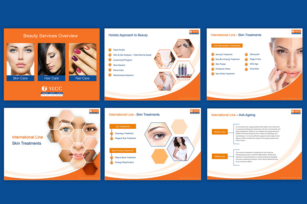 Aesthetic Clinic Powerpoint Presentation Nv Graphic Design