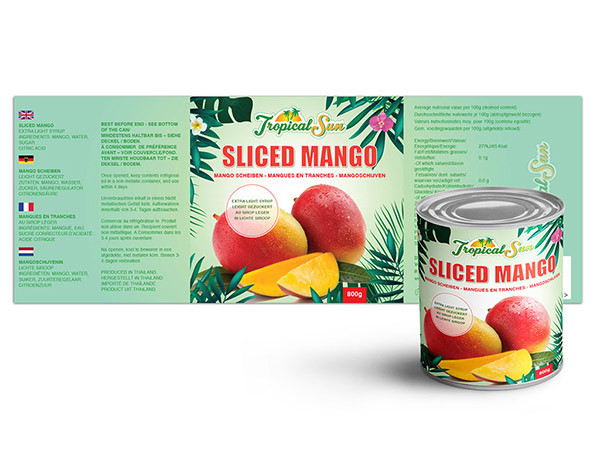 Logo & Label Design for Mango Can