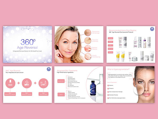 Skin Treatments Clinic – Powerpoint Presentation Design