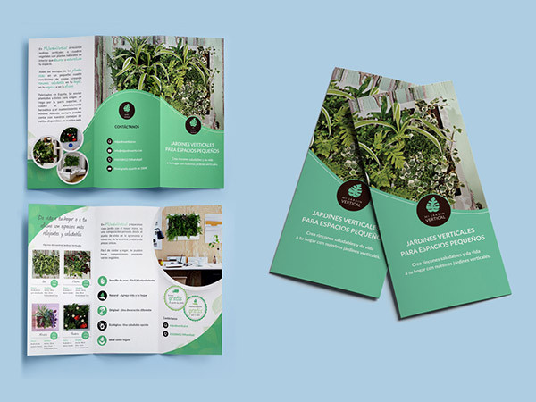 Plant Shop Flyer Design