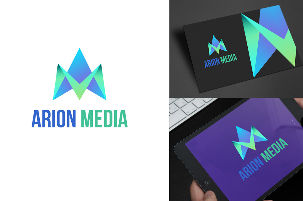 example of branding design for agency