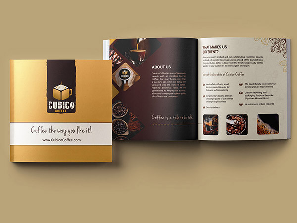 Coffee Wholesale Brochure Design