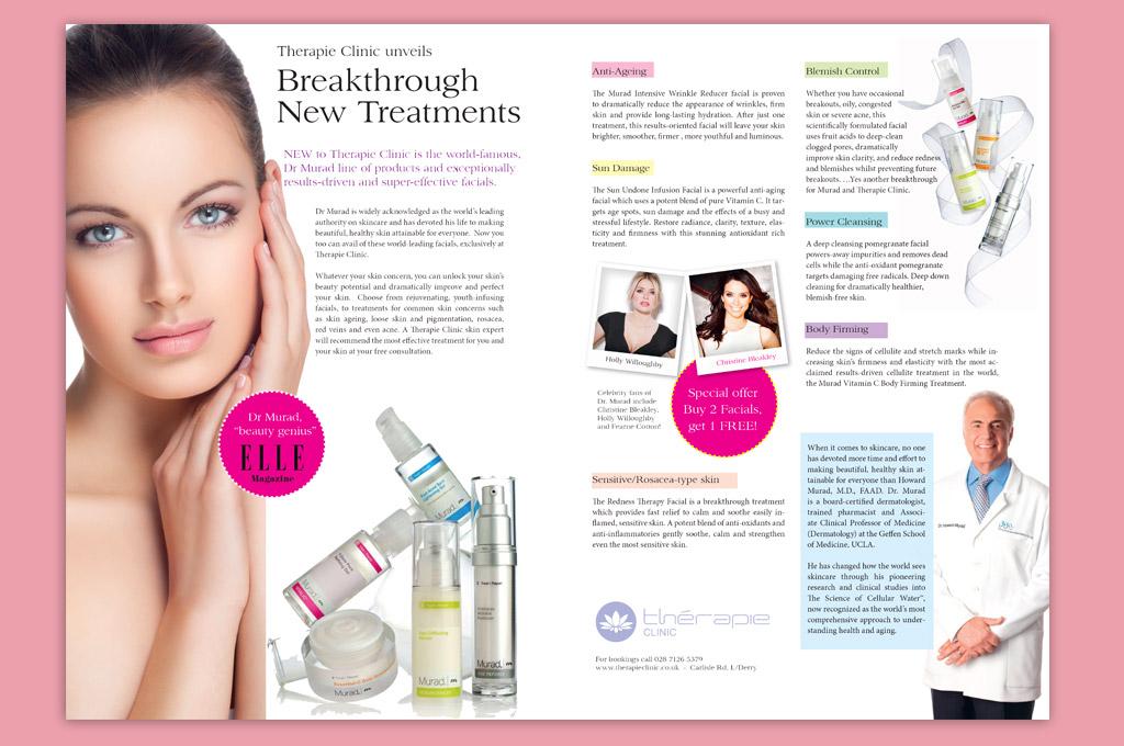 Skincare Editorial Design
