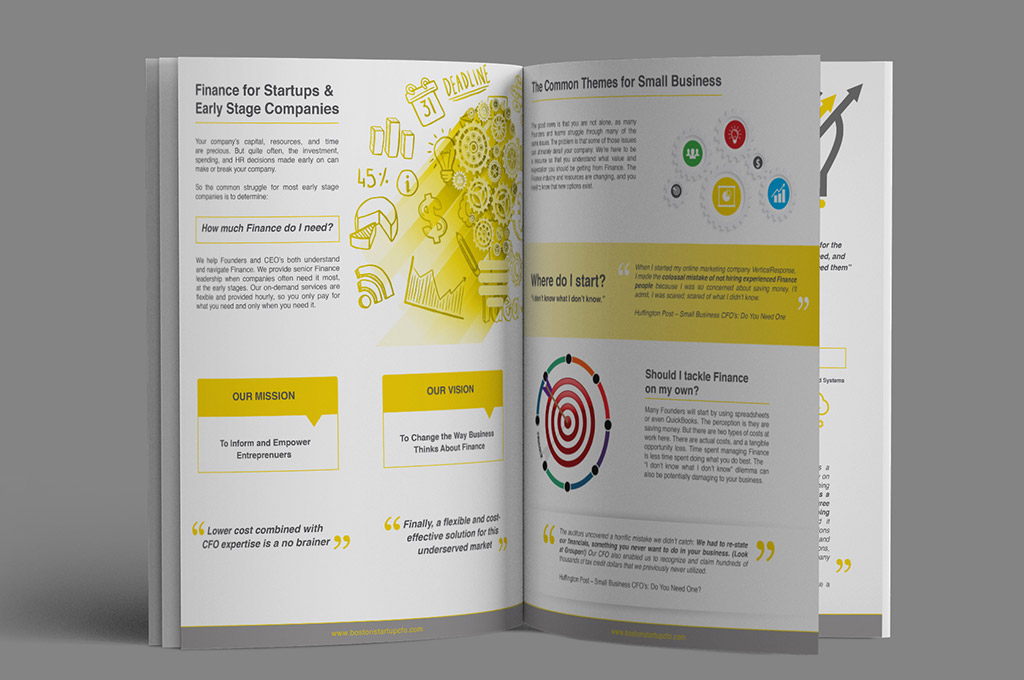 finance company brochure design nv graphic design