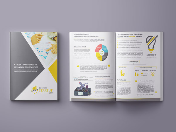 Finance Company Brochure Design