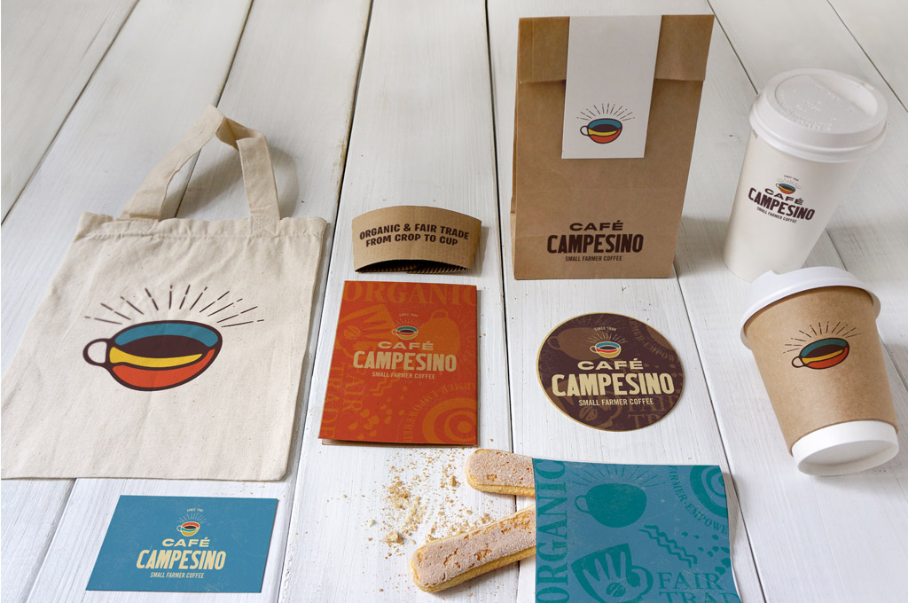 coffee company branding design