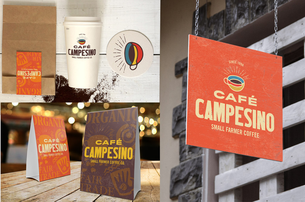 examples of branding for coffee company