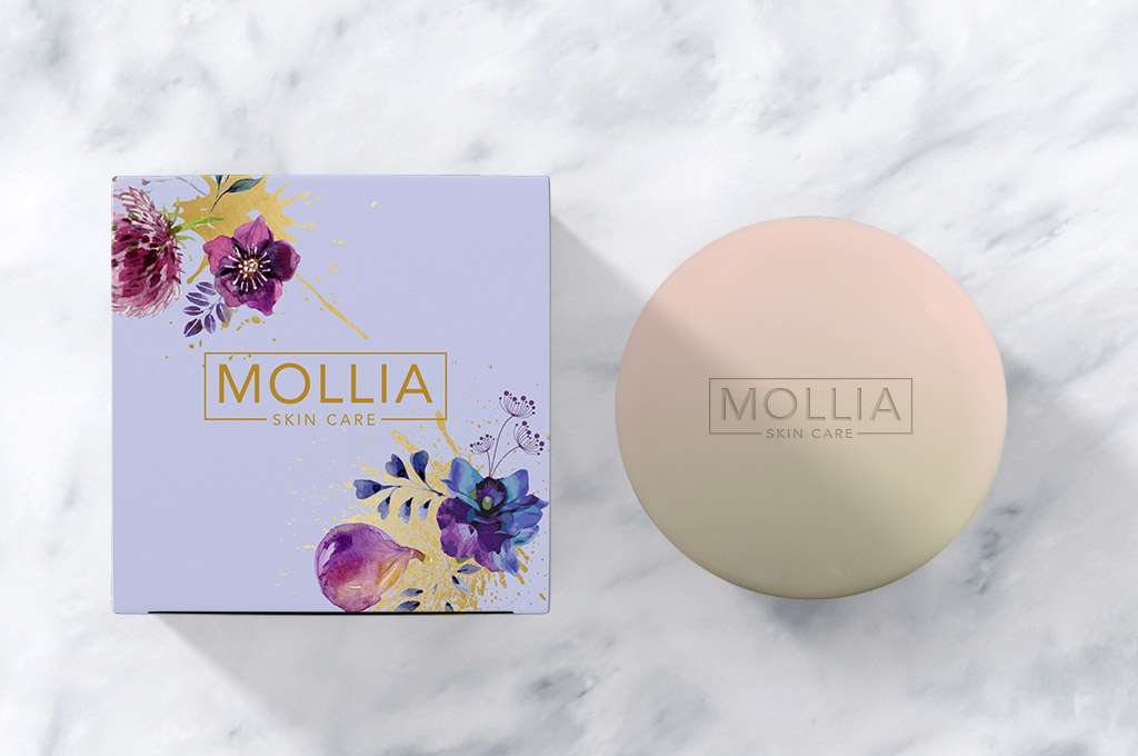 cosmetic cream box design