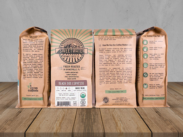 Coffee Company Branding – coffee label design
