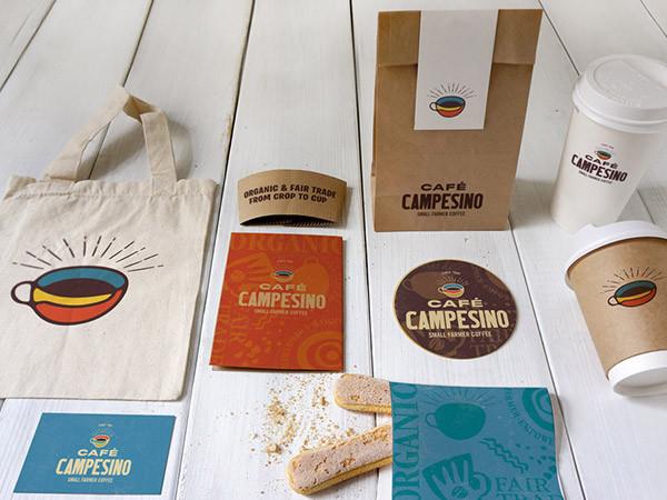 Café Campesino Coffee Branding Design