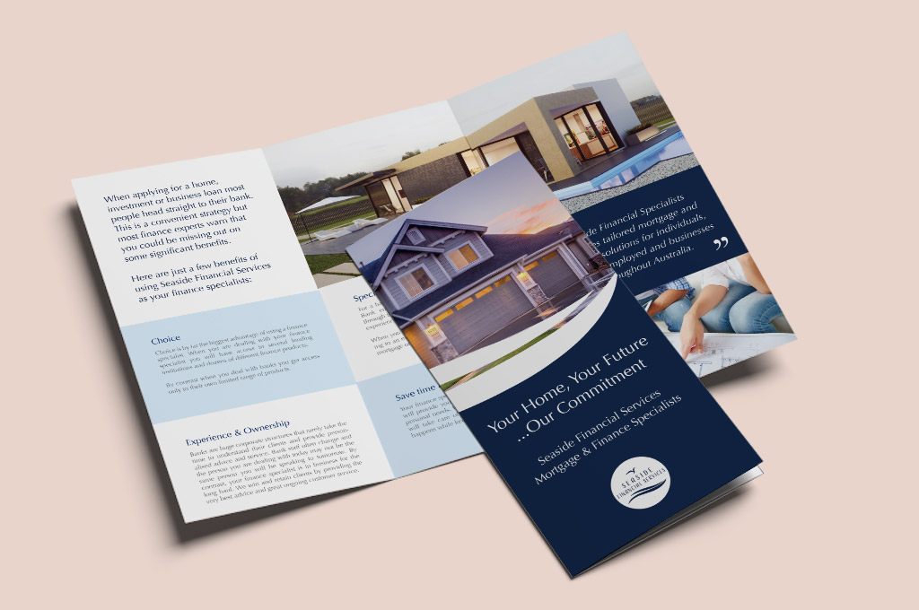 finance company flyer design