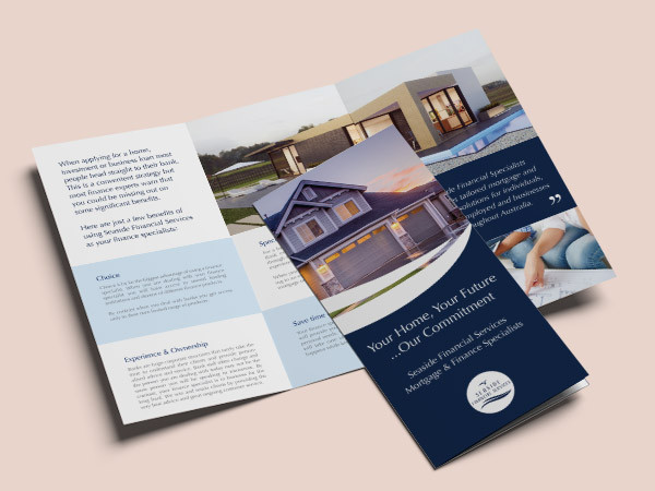 Flyer Design – Finance Company for Housing