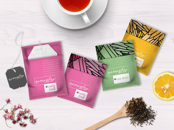 Tea Packaging Design for company located in Dubai