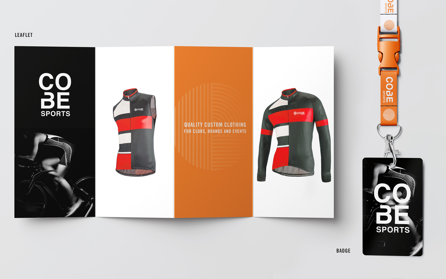 Branding Cycling Gear Collateral